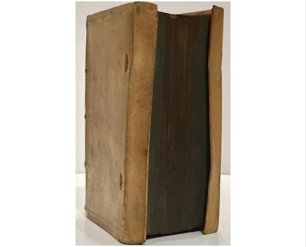 Cover of Laurent Joubert's manuscript dating back from 1577.