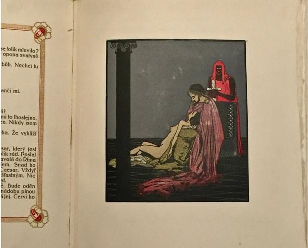 Illustration de Wilde Salome illustré par Otokar Štáfl