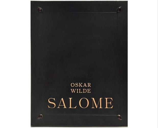 Reliure de Oscar Wilde Salomé illustré par Otokar Štáfl