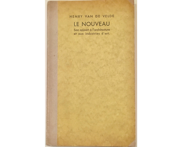 boards of Le Nouveau by Henry van de Velde