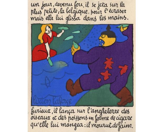 ddetail of Conte de fées by Lucien Laforge