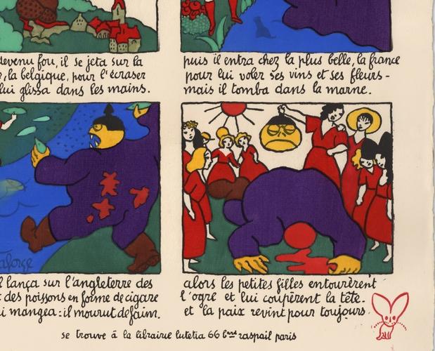 detail of Conte de fées by Lucien Laforge