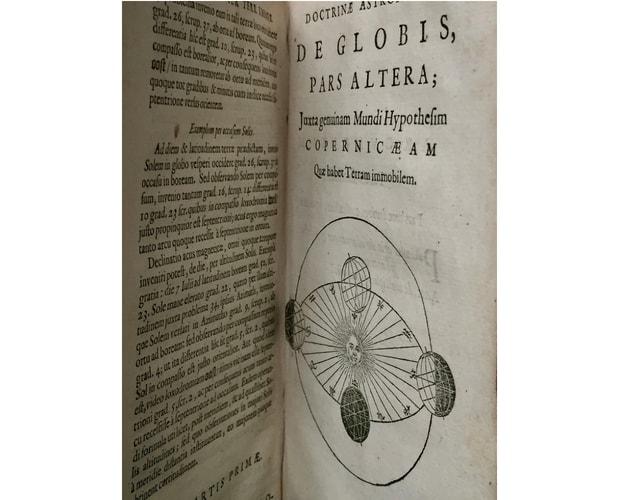 Illustration de Blaeu Institutio Astronomica