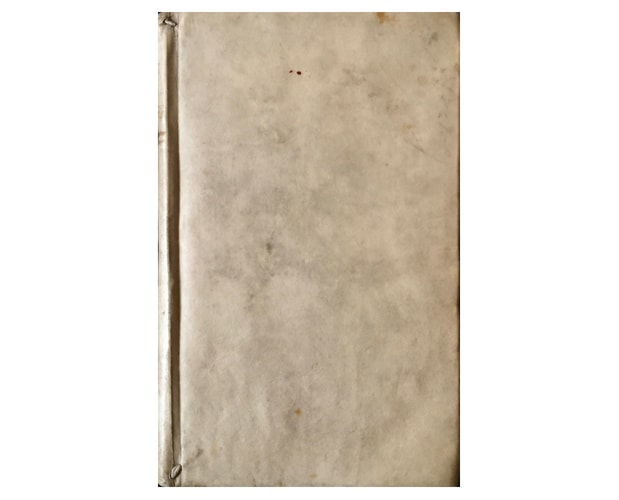 Vellum binding of Blaeu Institutio Astronomica