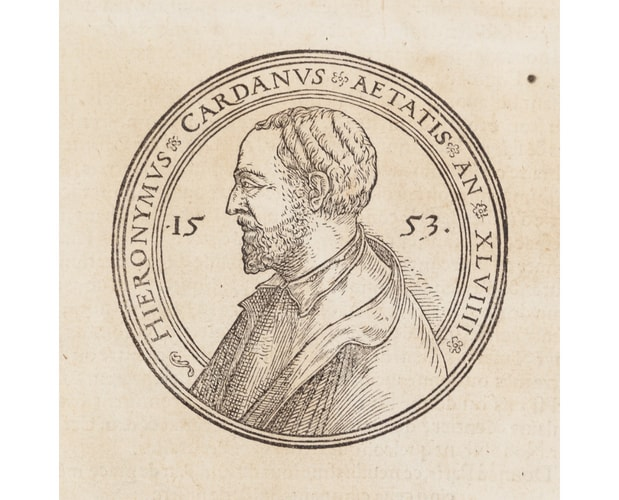 portrait of Cardano