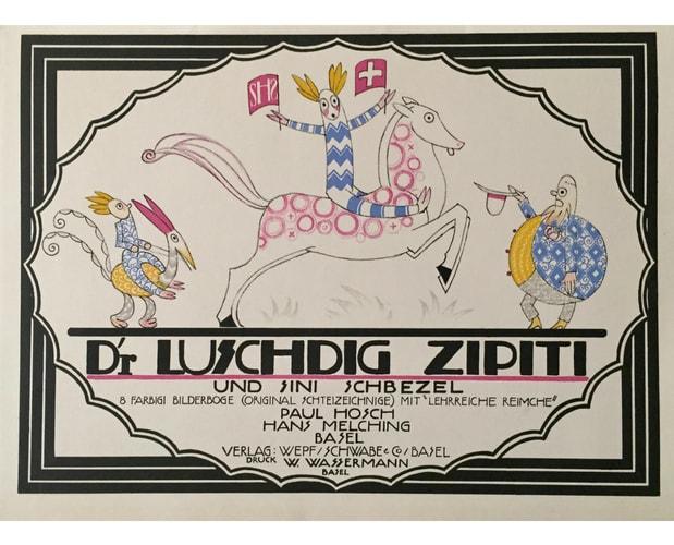 Cover of Luschdig Zipiti