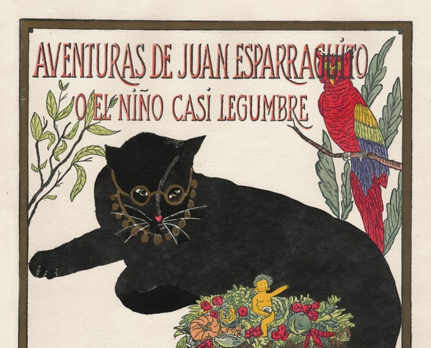 Detail of cover of Juan Esparraguito by Edwards McClure