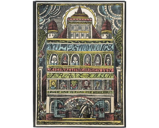 cover illustration of Die 12 Monate by Franz von Zülow