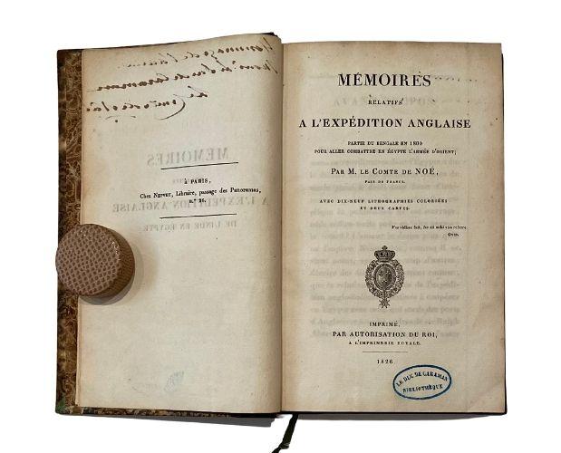 title-page noé mémoires