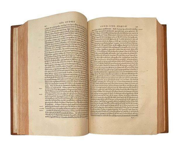 double-page of budé