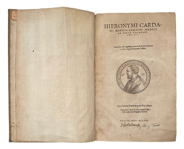 title-page of cardano
