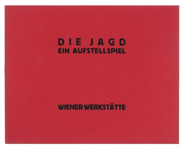 Couverture de Die Jagd publié par la Wiener Werkstätte