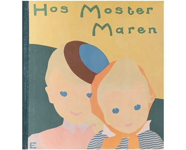 cover illustration from Hos Moster Maren by Eyermann Asisoff