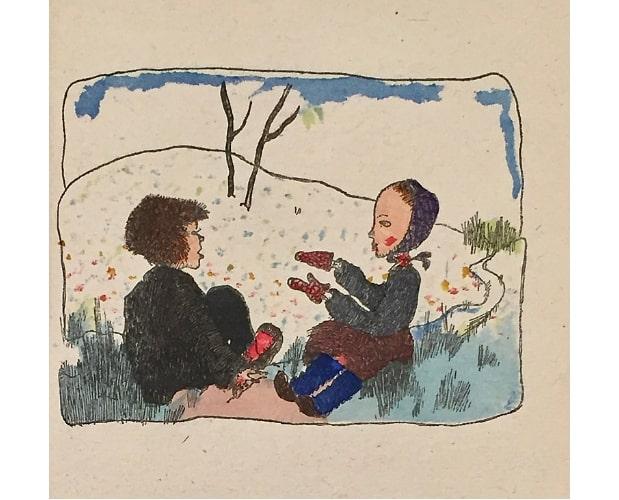 illustration from das Pferdchen