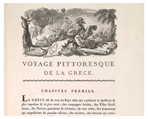 vignette from Choiseul-Gouffier Voyage pittoresque