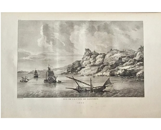 plate in finished state from Choiseul-Gouffier Voyage pittoresque