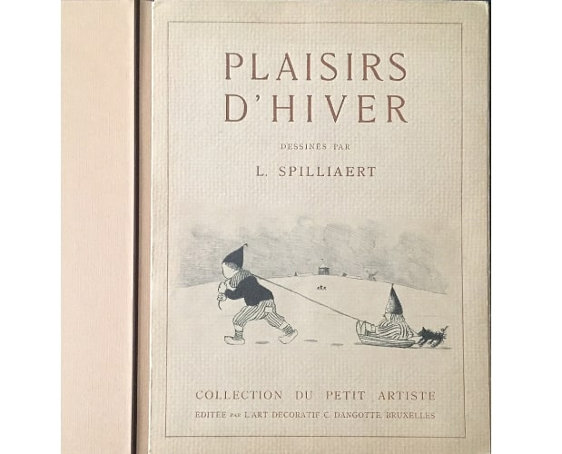 cover of Les Plaisirs d'hiver by Spilliaert
