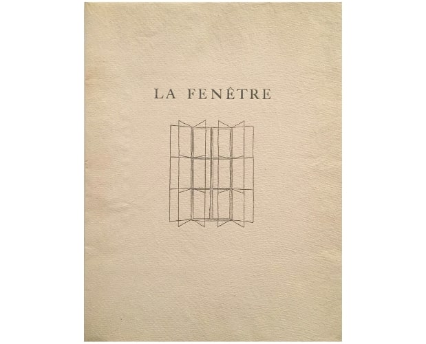 cover of la fenetre by francis ponge