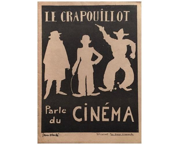 couverture du Crapouillot parle du cinema