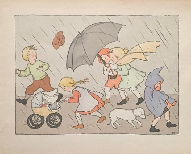 Colour illustration by Ida Bohatta-Morpurgo