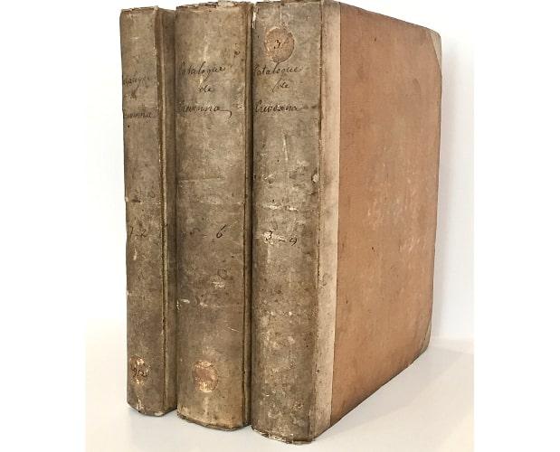 Binding of Crevenna Catalogue
