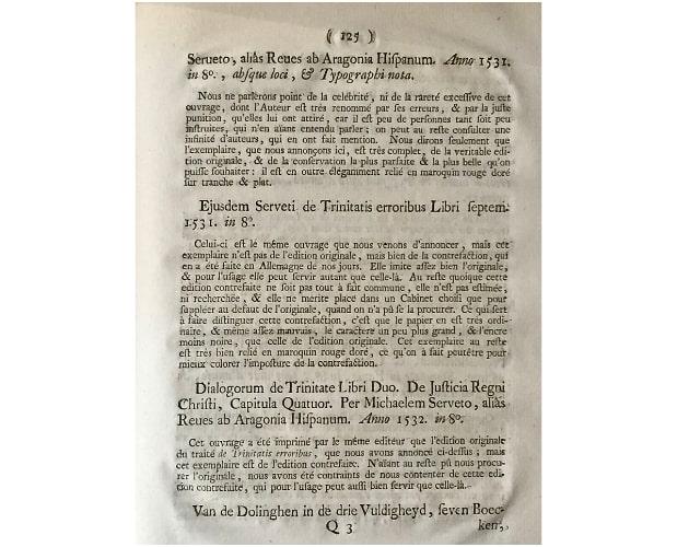 Text page of Crevenna Catalogue