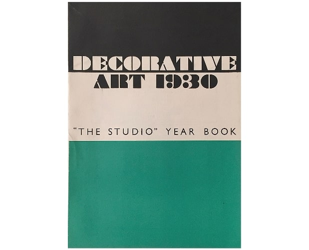 Cover of Decorative Art 1930