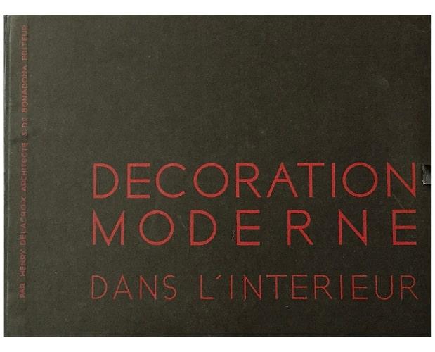 Black portfolio of Delacroix Décoration moderne