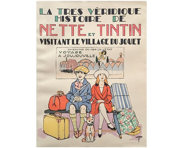 Cover of Nette et Tintin