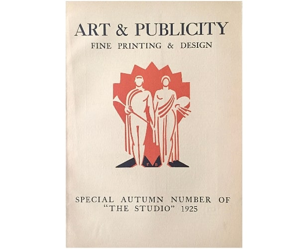 Cover of Art & Publicity 1925