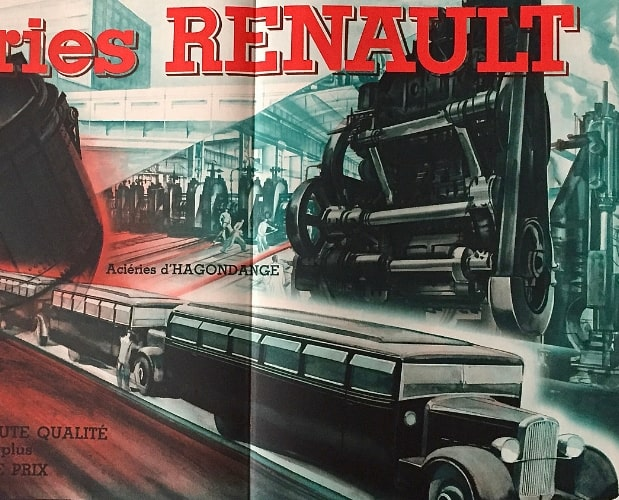 Illustration from Renault Camion de France by Draeger