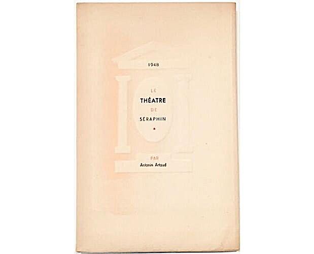front cover of Antonin Artaud Théâtre de Séraphin