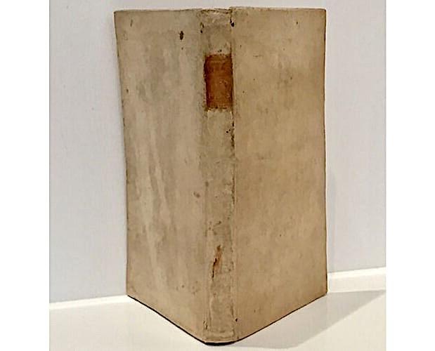 vellum binding of Blondel Dissertation