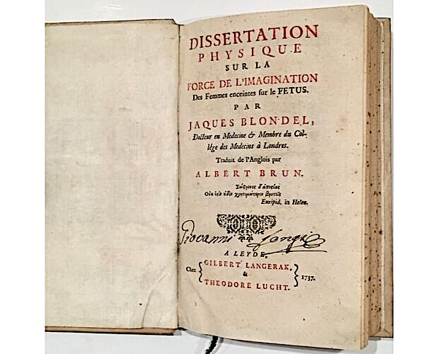 title-page of Blondel Dissertation