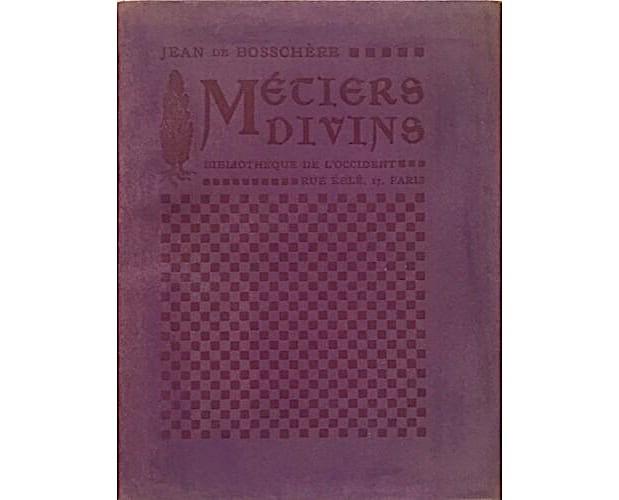 cover of Jean de Boschère Métiers divins