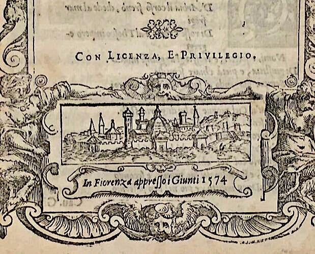 Vue de Florence in Cini Pompa Funerale Medici