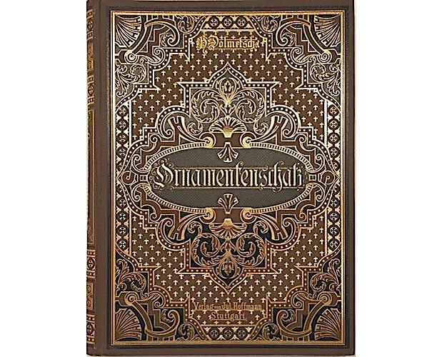 binding of Dolmetsch Ornamenteschatz