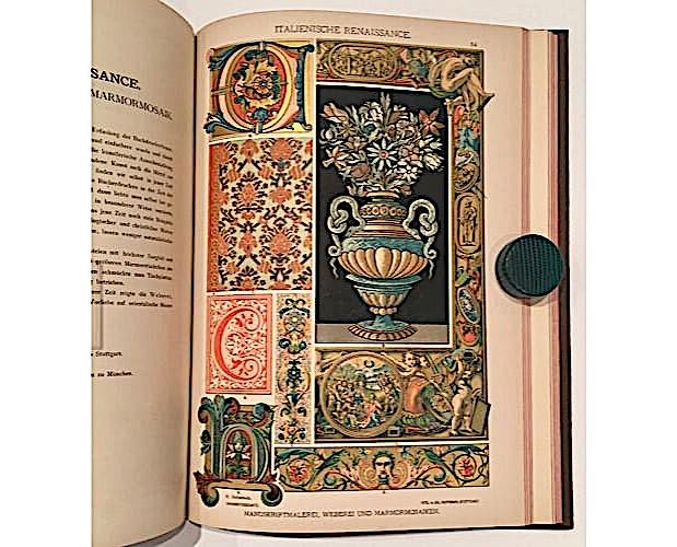 plate from Dolmetsch Ornamentenschatz