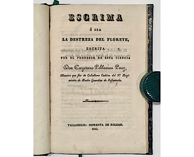 title-page of Poblacion Perez Esgrima