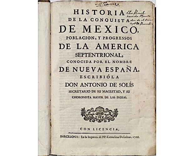 title-page of Solis Mexico