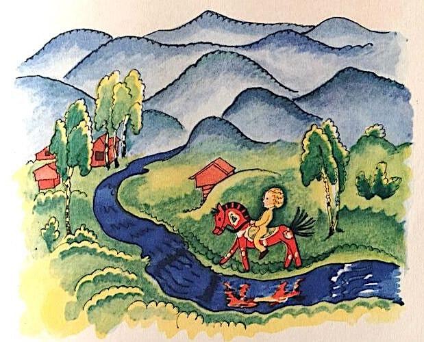 image Moeschlin Das Rote Pferd