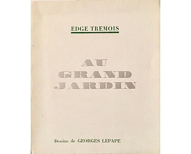 cover of Tremois Au grand jardin