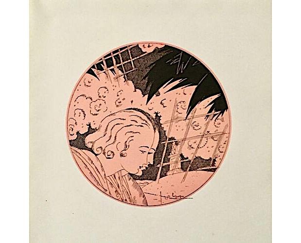 Illustration by Georges Lepape for Tremois Au grand jardin