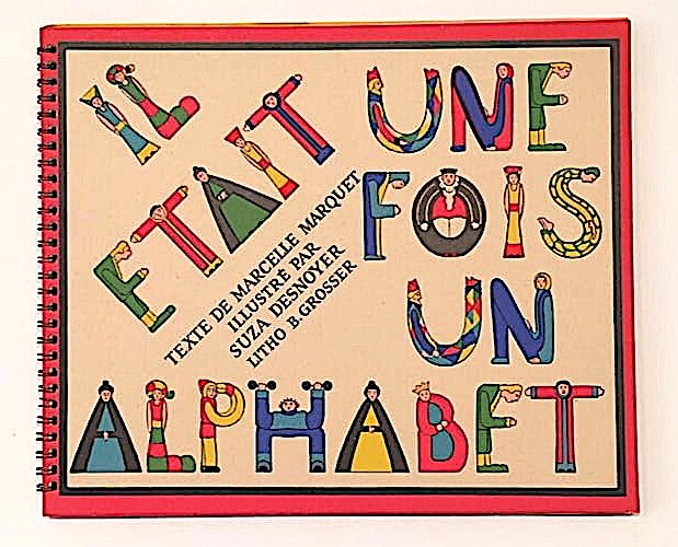 Cover of Marquet Alphabet