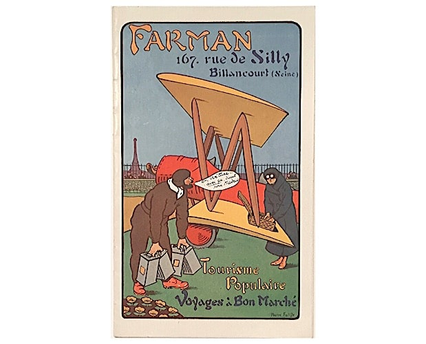 cover by Pierre Falize for a Farman trade catalogue