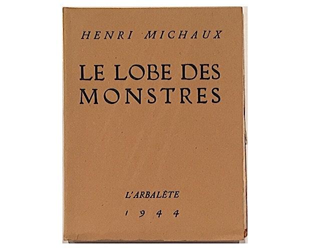 cover of Michaux Lobe des monstres