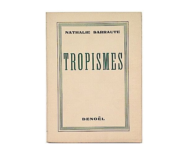 cover of Tropismes by Nathalie Sarraute
