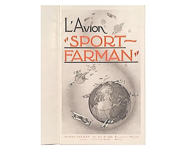 title-page of Farman trade catalogue