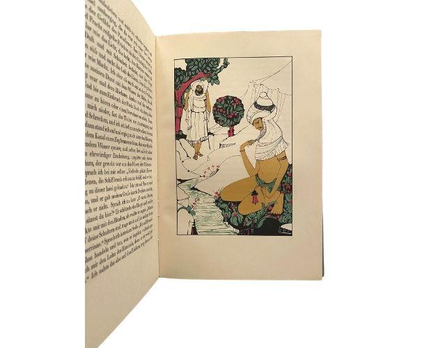 Planche couleurs de Peters Sindbads Insel Verlag