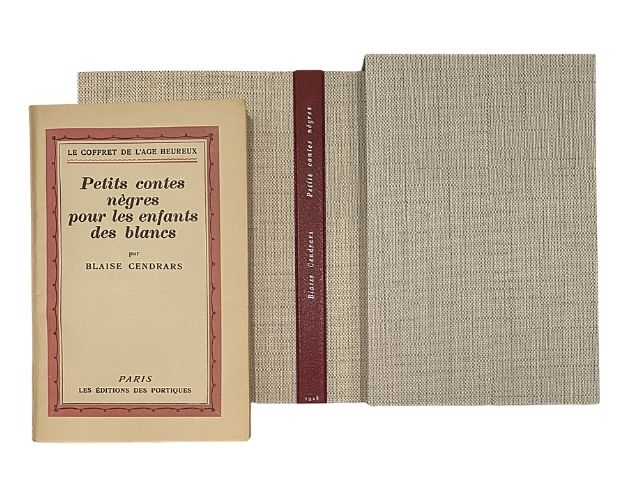 cendrars petits contes cover chemise and slipcase